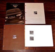 1999 CHRYSLER 300M & 300 LHS Press Kit with 16 Color Slides & 3 Brochures