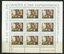 Portugal 1979 - Day Portugal, Camões, Portuguese Communities MS MNH