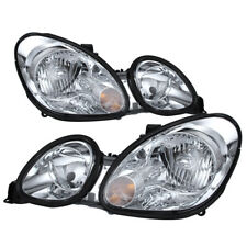 Fit Lexus 98-05 GS300 GS400 GS430 Chrome Housing Replacement Headlights Pair Set
