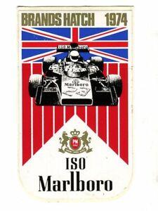 British GP 1974 Brands Marlboro original sticker autocollant adhesivo Aufkleber