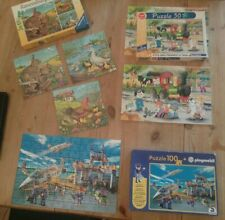 Konvolut/Ravensburger/Schmidt,Puzzle, Playmobil,Tierkinder,Zugpuzzle,/4+/5+/6+