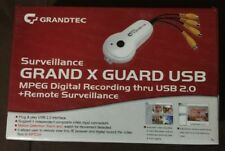 Grandtec Surveillance Grand X Guard USB Digital MPEG Surveillance CCTV DVR Card