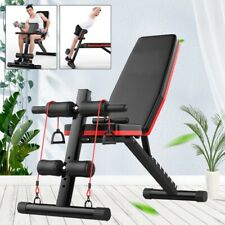 Bench Press Sit Up Abs Exerciser Multifunction Fitness Machines Gym Loss Weights