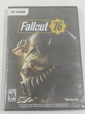 Fallout 76 PC Game Software Edition Brand New Sealed Mature Free Shipping