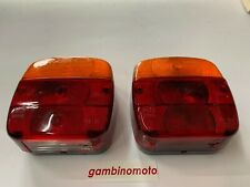 Pair Tail Lights Right Left Light Turn Signal & Stop, Fixed with Screws