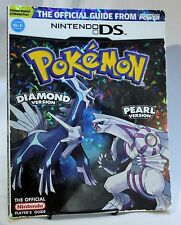 Pokemon Diamond Pearl Prismatic Foil Cover Strategy Guide Nintendo Power DS