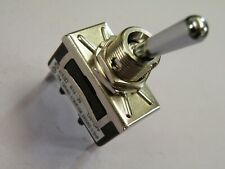 High Current Toggle Switch 10A 250v 20A 12v SPST on-off Chrome Dolly STS-10  908