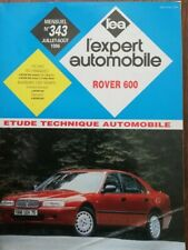 ROVER 600 essence diesel REVUE TECHNIQUE RTA EXPERT 343 1996