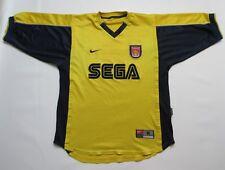 6b9c2427b ARSENAL THE GUNNERS away Shirt jersey NIKE 1999-2001 SEGA trikot adult SIZE  M