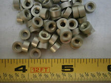 "HH Smith 8340 Standoff 1/4"" Round 6/32 Thread 1/8"" Long Aluminum Lot of 20 #3117"