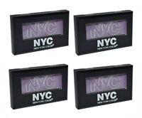 Lot of 4 N.Y.C. / NYC City Mono Eyeshadow #910 In Vogue