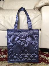 Naraya  Shoulder bag with bow ,Blue/Gray, , Brand new, Cosmetic, Travel