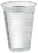 More details for clear plastic cups 7oz for water coolers / vending disposable plastic cups uk