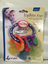 Luv N Care Nuby Pur Ice Bite Soother Key Ring Teether
