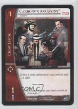 2005 Vs System Marvel Knights Mmk-093 Carbone's Assassins (Army) Gaming Card 3v2