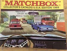 VINTAGE 1969 MATCHBOX COLLECTOR'S CATALOG USA EDITION