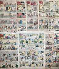 8 Walt Disney MICKEY MOUSE, DONALD DUCK, Sunday Comics from 1937