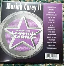 LEGENDS KARAOKE CDG MARIAH CAREY VOL 2 #218 POP R&B 16 SONGS BUTTERFLY MY ALL