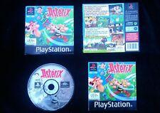 JEU Sony Playstation PS1 / PS2 : ASTERIX (Infogrames COMPLET envoi suivi)