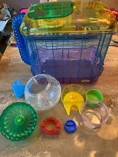 Super Pet Kaytee Critter Trail Hamster Cage (Mice/Gerbil) Complete Starter Kit!