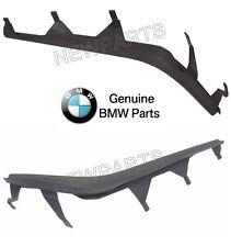 NEW BMW E30 E46 Set of Left & Right Upper Headlight Cover Strips Pair Genuine