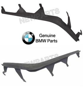 5For BMW E46 325i Set of Left & Right Upper Headlight Cover Strips Pair Genuine