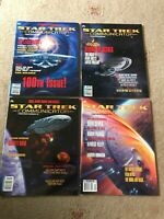 Star Trek Communicator Official Fan Club Magazines Issue Numbers 100 - 103 VGC