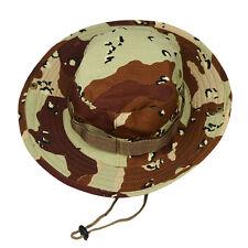 Bucket Hat Boonie Hunting Outdoor Wide Brim Camo Sun Men Cap Military Fishing