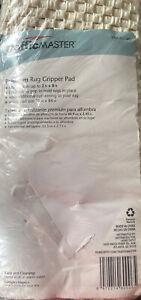 "Traffic Master Rug Pad / Mat / Gripper Cushion  21"" x 84""  Premium Non-Slip NEW"