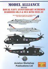 NEW 1:48 Model Alliance 489051 RN Anniversary Schemes Harrier & Sea King