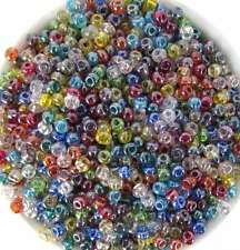 Czech Glass Seed Bead Multi Colored Luster Size 6/0