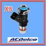 8 Fuel InjectorS ACDELCO GM Original Equipment REPLACE OEM # 12580681