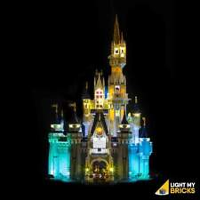 LIGHT MY BRICKS - LED Light Kit for LEGO Disney Castle 71040 set - NEW