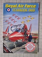 RAF Yearbook 1989 (Canberra, Tornado, Jaguar, Red Arrows, Jet Provost, Harrier)