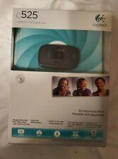 New in Box Sealed Logitech c525 HD Webcam