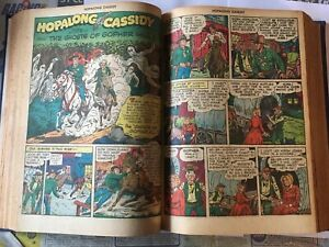 1948/49 Fawcett 10c Western Comics.very good condition 18 in total bound edition