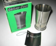 Pewter Weber-Zinn Becher German Tumbler, Nib