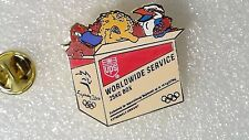 PIN'S Ups Mascottes Games Olympics Worldwide Service Sydney 2000