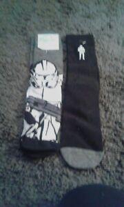 LMens Star Wars socks x2