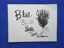 BLUE, BLUE, BLUES STARRING SONIC THE HEDGEHOG ~ BARE BONES PRESS 2008 ~ RARE!