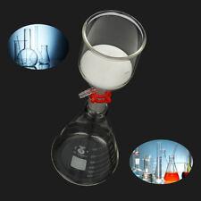1000ml Erlenmeyer Flask + 350ml Buchner Funnel + Glass Suction Filter Kit Set