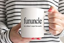 Personalised Fununcle Mug/Cup - Uncle Gift - Ideal Christmas Gift Present Cool