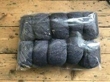 10 x 50g Ball, 100% Wool, GREY, 500g pack