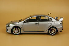 1/18 new MITSUBISHI LANCER EVOLUTION X EVO-X silver color+GIFT