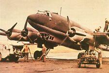 WW2 - Guerre 39/45 - Avitaillement bombardier allemand Focke Wulf FW 200 CONDOR