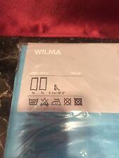 New Ikea Wilma Blue Top Curtain Panel Pair 57 X 98 Drapes