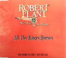 Robert Plant And The Strange Sensation Maxi CD All The Kings Horses - Promo - EU