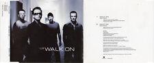 "U2 ""WALK ON"" RARE PROMOTIONAL CD SINGLE / BONO - THE EDGE - CLAYTON - MULLEN"