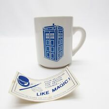 Doctor Who VTG Disappearing Tardis Coffee Mug, Cup - Dr. Who. EXCELLENT!