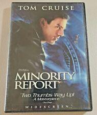 Minority Report Widescreen Dvd Steven Spielberg Tom Cruise 20th Century Fox 2002